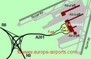 Brussels Zaventem Airport Belgium BRU Guide Flights - Brussels airport map