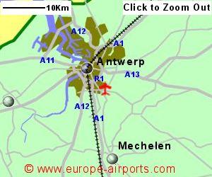 Antwerp Deurne Airport Belgium ANR Guide Flights