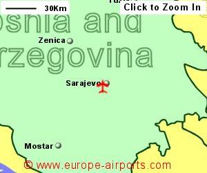 Sarajevo International Airport Bosnia And Herzegovina Sjj Guide