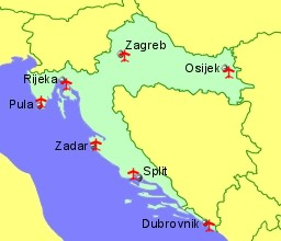 Croatia Airports Flights to Croatia From the UK or Ireland