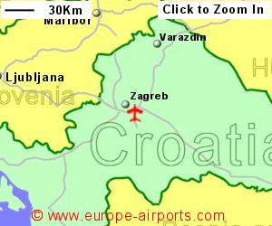 Zagreb Franjo Tuman Airport Croatia ZAG Guide Flights