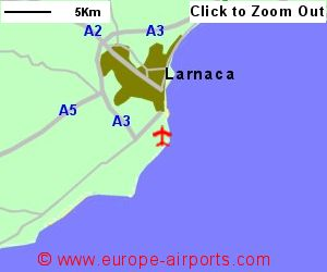 Larnaca Airport Cyprus LCA Guide Flights