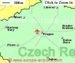 Prague vaclav havel airport czech republic prg for Prague location