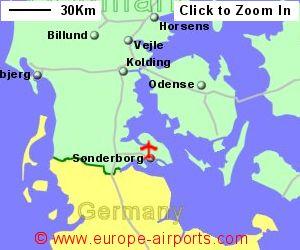 Sonderborg Airport Denmark SGD Guide Flights