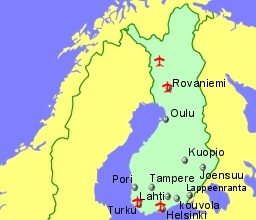 Finland Airports Flights to Finland from the UK and Ireland