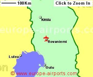 Rovaniemi Airport Finland RVN Guide Flights