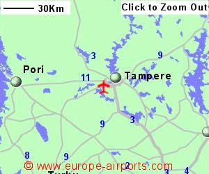 TamperePirkkala Airport Finland TMP Guide Flights