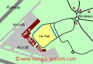 Bordeaux (Merignac) Airport, France (BOD) - Guide & Flights