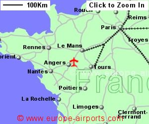 Angers Loire Airport France ANE Guide Flights