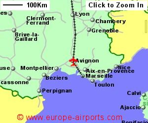 Avignon Airport France AVN Guide Flights