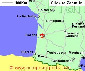 Bordeaux merignac airport france bod guide flights - Direct location bordeaux ...