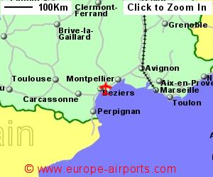 Beziers Cap d Agde Airport France BZR Guide Flights