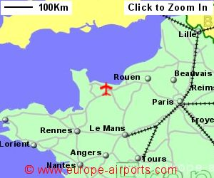 CaenCarpiquet Airport France CFR Guide Flights