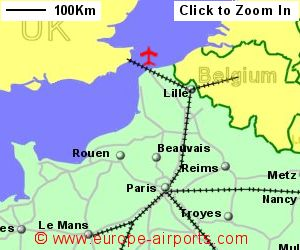 Calais CalaisDunkerque Airport France CQF Guide Flights