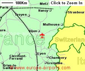 Map Of France Jura.Dole Jura Airport France Dle Guide Flights