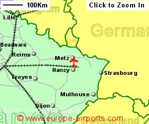 Metz nancy lorraine airport france etz guide flights for Garage auto lorraine metz