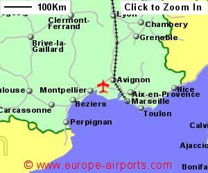 Nimes Arles Camargue Garons Airport France Fni Guide Flights