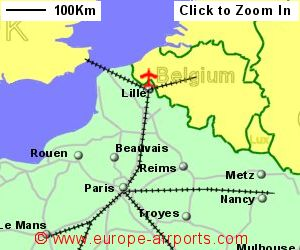 Lille Lesquin Airport France LIL Guide Flights