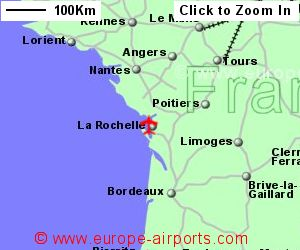 Map Of France Showing Airports.La Rochelle Airport France Lrh Guide Flights