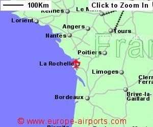 Map Of France La Rochelle.La Rochelle Airport France Lrh Guide Flights