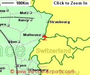 Mulhouse BasleMulhouseFreiburg Airport France MLH Guide - Basel mulhouse freiburg map