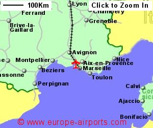 MarseilleProvence Marignane Airport France MRS Guide Flights