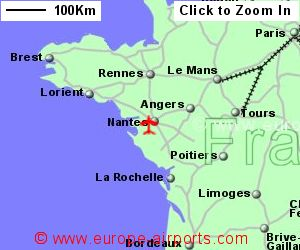 Nantes Atlantique Airport France NTE Guide Flights