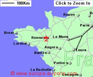Rennes St Jacques Airport France RNS Guide Flights