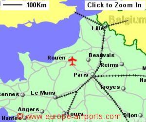 Rouen (Valledeseine) Airport, France (URO) - Guide & Flights