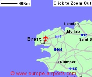 Brest Bretagne Airport France BES Guide Flights