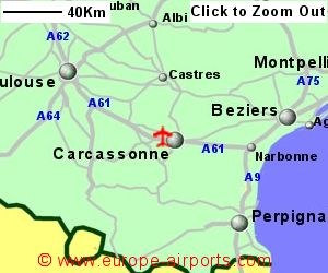 Carcassonne Salvaza Airport France CCF Guide Flights