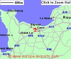 CaenCarpiquet Airport France CFR Guide Flights