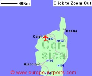 Calvi Corsica Airport France CLY Guide Flights