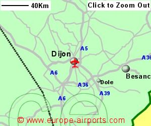 Dijon Airport France DIJ Guide Flights
