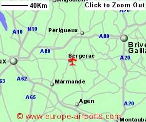 Bergerac Dordogne Perigord Airport France EGC Guide Flights