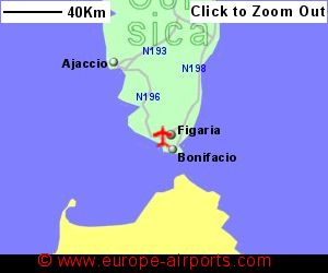 Figari South Corsica Airport France FSC Guide Flights