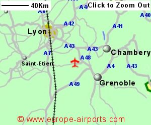 GrenobleIsere St Geoirs Airport France GNB Guide Flights