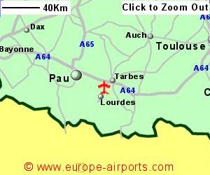 Lourdes TarbesLourdesPyrenees Airport France LDE Guide