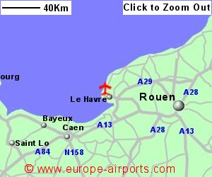 Le Havre Octeville Airport France LEH Guide Flights
