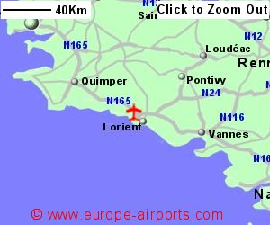 Lorient South Brittany Airport France LRT Guide Flights