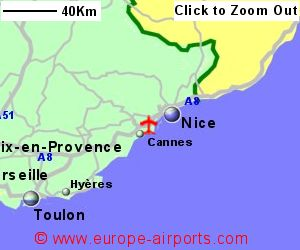 Nice Cote D Azure International Airport France NCE Guide