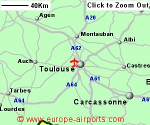 Toulouse Blagnac Airport France TLS Guide Flights