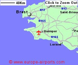 Quimper Airport France UIP Guide Flights