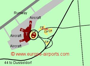 Dusseldorf Airport Germany DUS Guide Flights