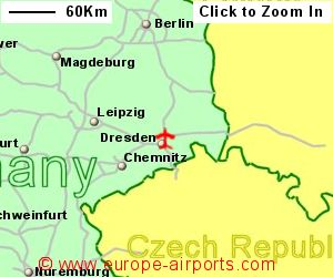 Map Of Germany Showing Dresden.Dresden Klotzsche Airport Germany Drs Guide Flights
