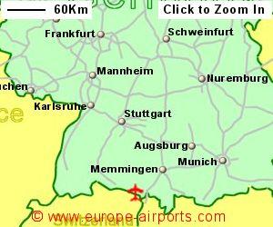 Friedrichshafen Bodensee Airport Germany FDH Guide Flights