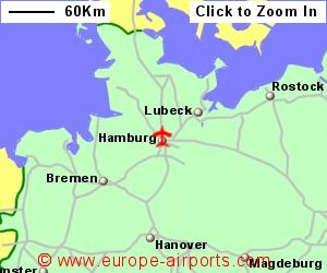 Hamburg Airport Germany HAM Guide Flights - Germany map airports