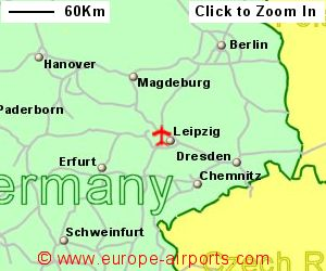 LeipzigHalle Schkeuditz Airport Germany LEJ Guide Flights