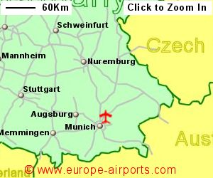 Munich (Franz Josef Strauss International) Airport, Germany (MUC ...