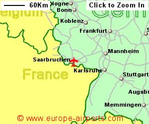 Saarbrucken Germany Map.Saarbrucken Airport Germany Scn Guide Flights